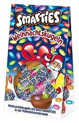 Smarties Weihnachtskugeln Aus Milchschokolade, 85 G