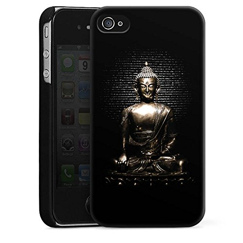 Apple iPhone 6s Hülle Silikon Case Schutz Cover Statue Buddha Buddhismus Hard Case schwarz