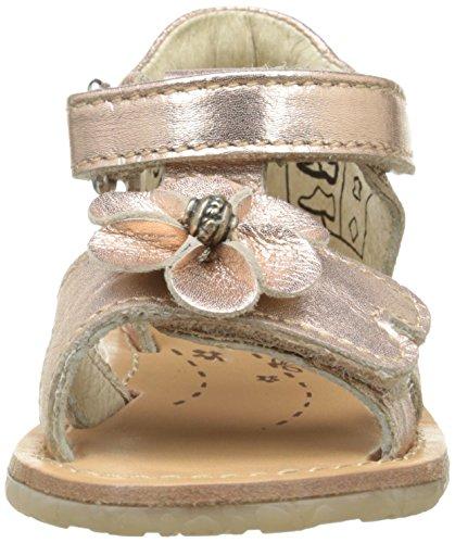 Noël Mini Sab, Chaussures Bébé marche bébé fille Or (98 Cuivre)