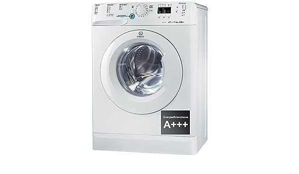 Indesit schmale waschmaschine xwsa w de frontlader eek a