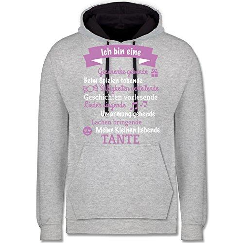 Shirtracer Schwester & Tante – Ich Bin eine Tante! – Kontrast Hoodie