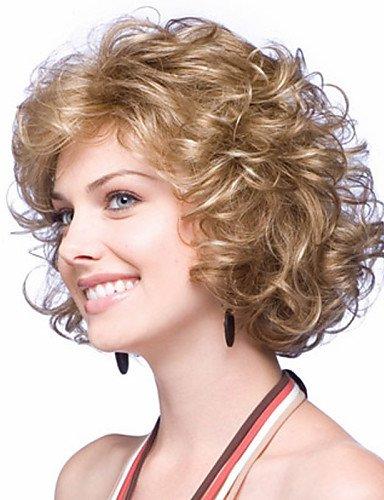 Mode Perücken WIGSTYLE Europäische und amerikanische Mode Must-Have girl blonde hochwertige Perücke (Kid Perücken)