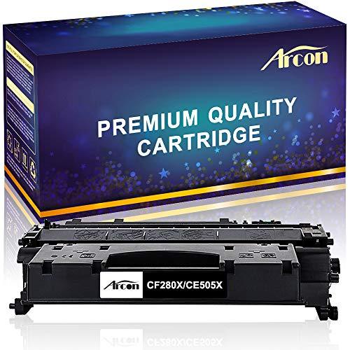 H-PRO - Cartucho de tóner compatible con HP 80X CF280X HP 05X CE505X para impresora HP LaserJet Pro 400 M401a M401d M401n M401dn M401dne M401dw LaserJet Pro 400 MFP M425dn M425dw P2055D P2055DN P2055X