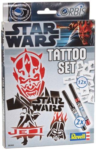 Revell Orbis 30302 - Kinderairbrush - Star Wars Tattoo Set (Star-wars-tattoos)