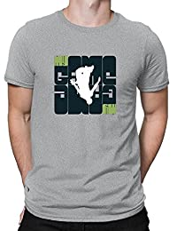 Teeburon My Game Parkour Silhouette Camiseta