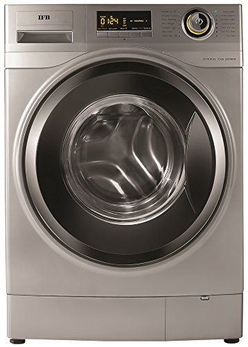 IFB 7.5 Kg Fully Automatic Front Loading Washing Machine  Elite Plus SXR, Silver, Inbuilt Heater  Washing Machines   Dryers