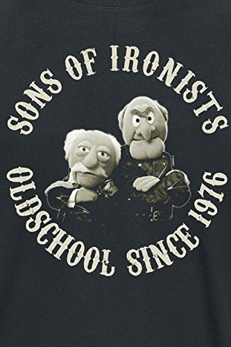 The Muppets Die Sons of Ironists T-Shirt Schwarz Schwarz