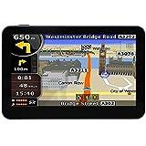 """Hieha® 4.3"""" 8Go MTK 2531 GPS Voiture Gratuits Cartographie à Vie Monde Carte 49 pays Pré installé"""