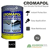 Cromapol Acrylic Waterproofing Coating Black - 5 KG
