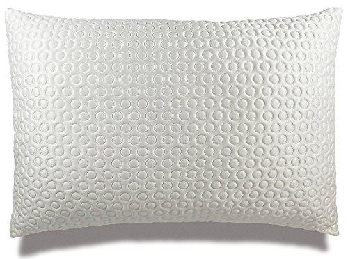 Xtreme Comforts Luxuriöses Plüschkissen mit Gelfüllung zum Schlafen. Verstellbarer Dachboden für alle Schläfer mit spezieller Cool-X Kühlabdeckung Standard weiß -