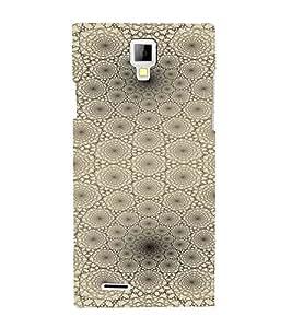 PrintVisa Modern Art Web Pattern 3D Hard Polycarbonate Designer Back Case Cover for Micromax Canvas Xpress A99