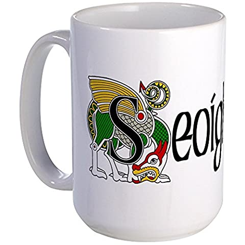 CafePress - Joyce (In Irish Gaelic) - Coffee Mug, Large 15 oz. White Coffee Cup