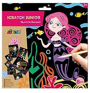 Avenir 6301677 Scratch Junior Little Mermaid