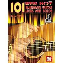 101 Red Hot Bluegrass Guitar Licks (English Edition)
