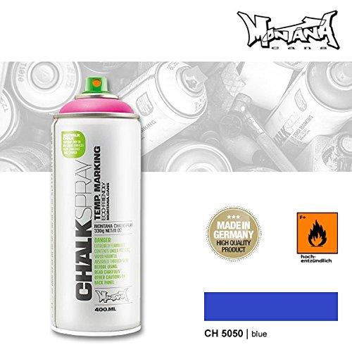 Preisvergleich Produktbild Montana Chalk 5050 blue, 400 ml Kreidespray