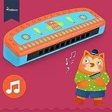 MiDeer Indian Style Kids Wooden Harmonica Mouth Organ Musical Toys For Children Beginner Musical Instrument Birthday Gift - Edu Toys