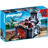 chateau playmobil dragon rouge. Black Bedroom Furniture Sets. Home Design Ideas