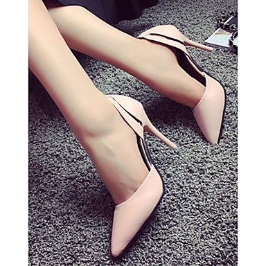 Moda Donna Sandali Sexy donna tacchi tacchi estate pu Casual Stiletto Heel altri nero / blu / Rosa Altri Pink