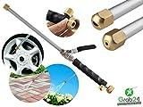 GYD Hochdruck-Reinigungsdüse für alle Gartenschläuche (schwarz)