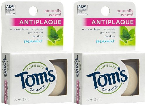 toms-of-maine-antiplaque-flat-floss-spearmint-32-ct-2-pk-by-toms-of-maine