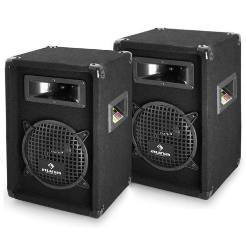 Malone PW-0822 20cm Sonido Profesional DJ Pareja de Altavoces 20cm (8