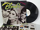BLONDIE eat to the beat WITH official merchandise flyer, CDL 1225, includes official fan club merchandise flyer