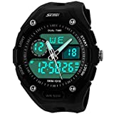 E-future Skmei Herren-Armbanduhr Männer Wasserdicht Tauchen LCD Analog - Digital Outdoor Militär Sport Uhr