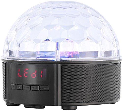 Auvisio Mobile BT Stereo Speaker Disco della sfera, 4Batterie, 2.000mAh,