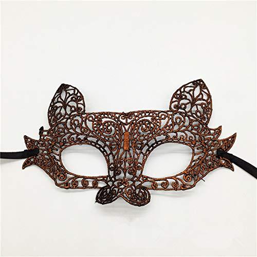 Klöppel Maske, Halloween-Kugel Mit -