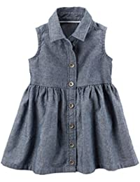 Carters Baby Girls Chambray Shirt Dress 3 Months