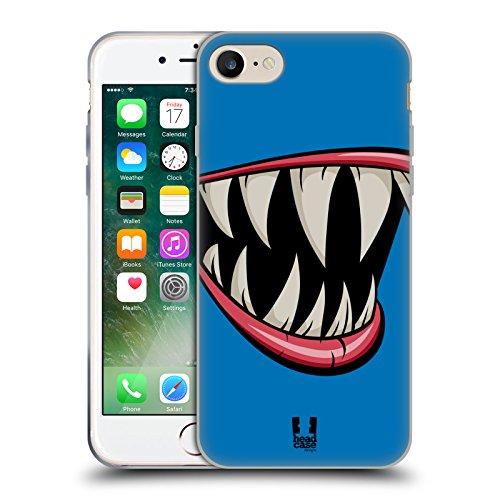 Head Case Designs Plettro Problemi Di Chitarra Cover Morbida In Gel Per Apple iPhone 7 / iPhone 8 Pesce