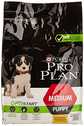 PRO PLAN DOG Puppy Medium Dry Dog Food Chicken 3 kg