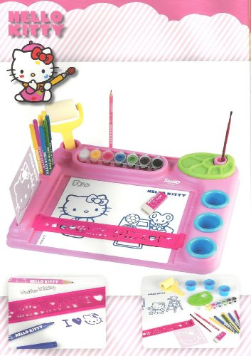 Hello Kitty tavolo dell' artista - Hello Kitty Birthday Giochi