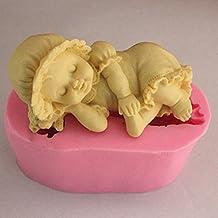 Saco de dormir para bebé YL M346 jabón Craft moldes de silicona con forma de molde