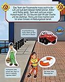 Feuerwehrmann Sam Magnet-Spiel-Buch: Lernspaß mit 16 Magneten Test