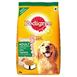 #5: Pedigree Adult Dog Food Vegetarian, 3 kg Pack