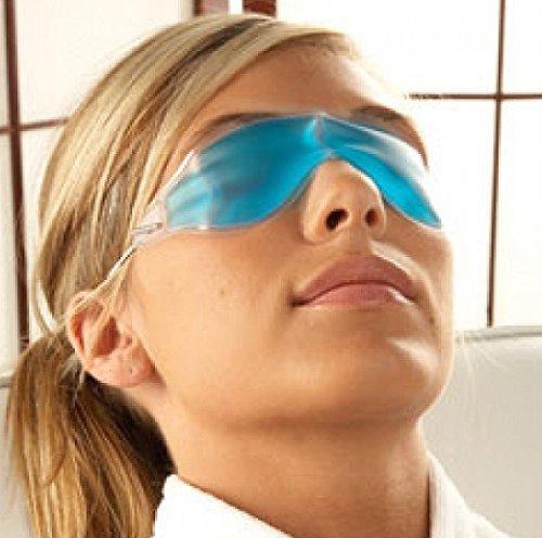 Kühle Gel-augenmaske (Gel Augenmaske Kühlbrille Schlafmaske Relax Gelmaske Maske #1709)
