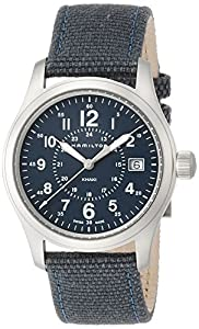 Hamilton Men's Analogue Quartz Watch with Textile Strap H68201943