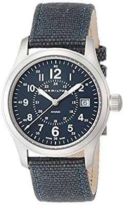 Hamilton Men's Analogue Quartz Watch with Textile Strap H68201943