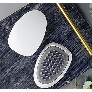Kopfhaut Massage Bürste, Kopfhaut Massagegerät ,Haarbürste Shampoo Bürste Kopfmassagegerät Handmassagegerät Massagegeräte für Kopf Haar Kunststoff Pinsel Reinigungsbad Badezimmer(Schwarz)