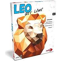 Noris Spiele 606311513 Papershape 3D Löwe, mehrfarbig