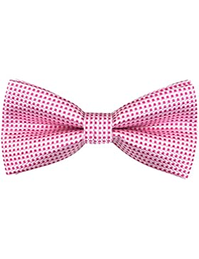 GASSANI - Pajarita - para hombre rosa / blanco