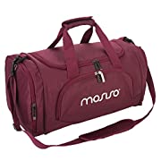 La borsa della palestra di MOSISO è stata costruita con le esigenze dell'atleta in mente. Questa borsa ha un vasto scomparto principale completo di tasca interna con cerniera, tasche aperte in rete per abbigliamento e altra attrezzatura, tasc...
