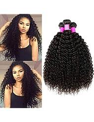 694f93ee7646 Ur Beautiful 8A Tissage Bresilien Boucle Meches Bresiliennes Cheveux  Naturel Brésilienne Cheveux Bresilien Tissage Cheveux Remy