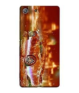 PrintVisa Stunning Fireworkes Classic 3D Hard Polycarbonate Designer Back Case Cover for Sony Xperia M5 Dual :: Sony Xperia M5 E5633 E5643 E5663