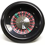18 Premium Bakelite Roulette Wheel with 2 Roulette Balls by Brybelly by Brybelly