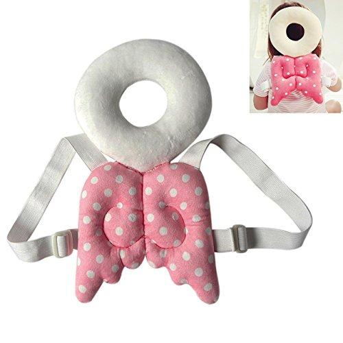 ECYC® Baby Kleinkinder Head Protective, einstellbare Kleinkinder Sicherheits-Pad für Baby-Wanderer Protective Head Shoulder Protector, Pink