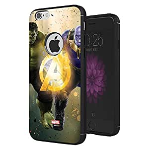 MTT Thanos & Hulk Infinity War Officially Licensed Armor Back Case Cover for Apple iPhone 6S/6 (Design 237)