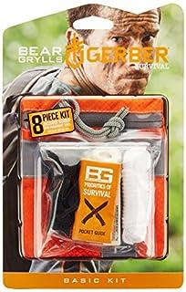 Gerber Bear Grylls Basic Kit Outdoor-Notfallset, Orange, M