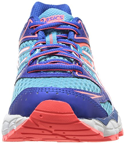 Asics Gel-Pulse 6, Chaussures Multisport Outdoor Femmes Bleu (4001-Turquoise/White/Electric Melon)